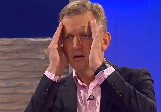 Jeremy Kyle cancelled.