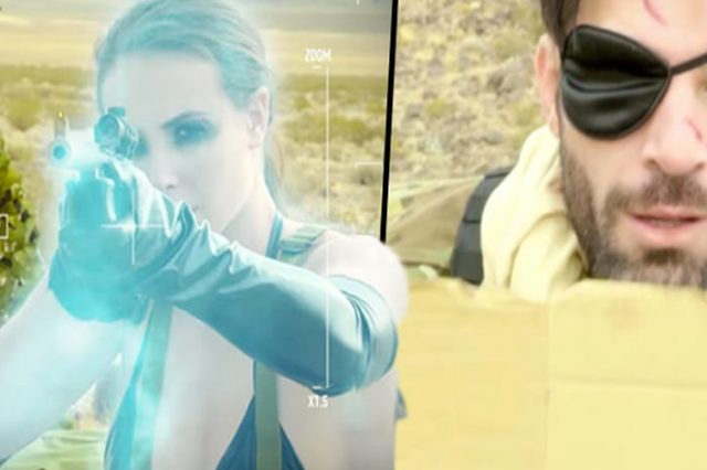 This Metal Gear Porn Parody Looks Surprisingly Watchable