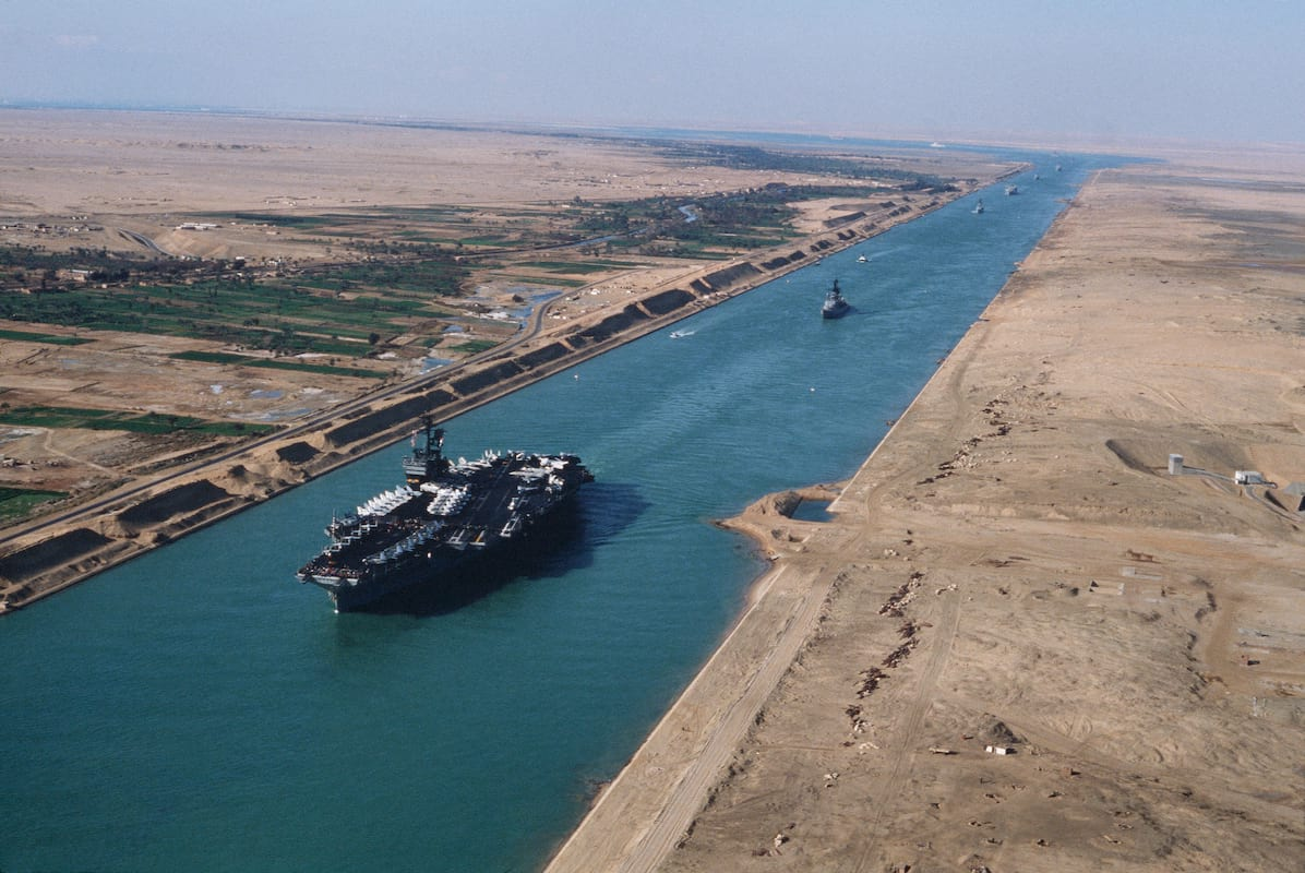 The Statue Of Liberty Was Nearly Muslim And People Arent Happy About It 63227UNILAD imageoptim USS America CV 66 in the Suez canal 1981