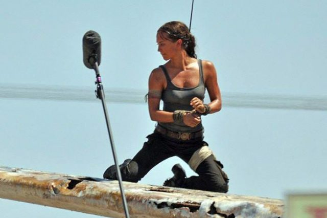 New Tomb Raider Movie Images Show Alicia Vikander As Lara Croft