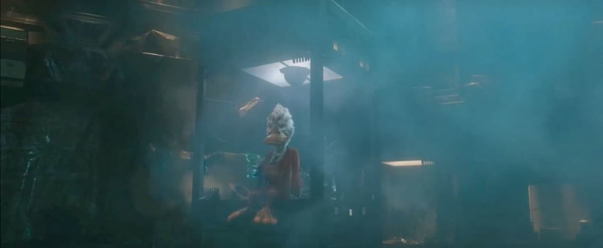 Howard the Duck in Guardian's of the Galaxy