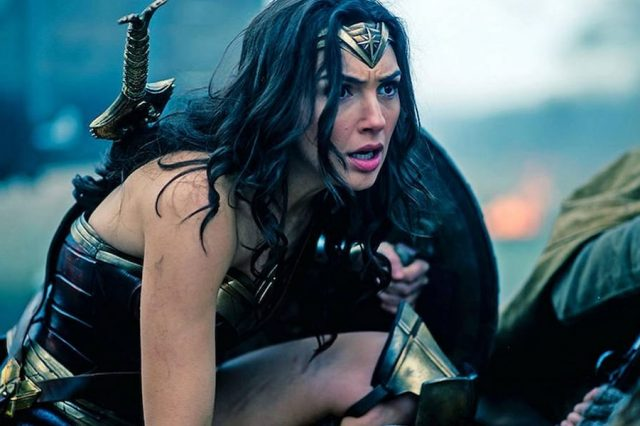 Film Fans Furious After Blatant Snub In Oscars Nominations 1205 Wonder Woman Diana in the trenches 640x426