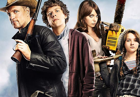 Zombieland promotional images
