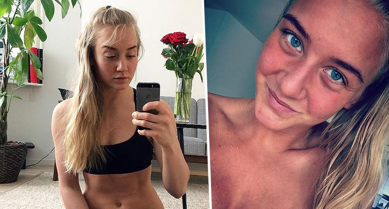 Woman Shares Brutally Honest Photo Of Period Side Effects 1347 malin olofsson fb