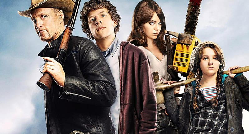 promotional shot for Zombieland