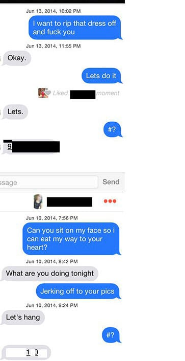 Guy Changes Tinder Picture To A Model And Asks All His Matches To Meet Up For Sex 151 tinder 1