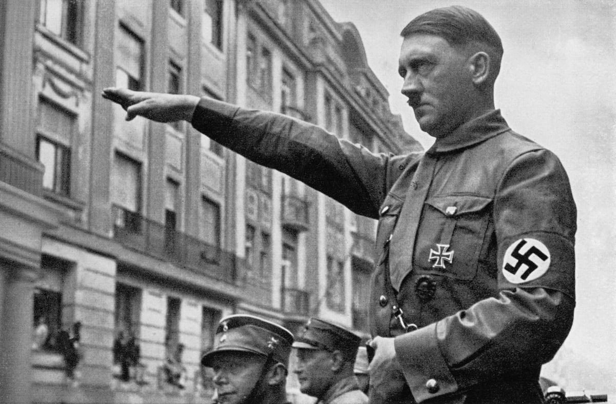 Adolf Hitlers Bodyguard Reveals Exactly What Happened In Moments Before His Death 1582 GettyImages 119505258