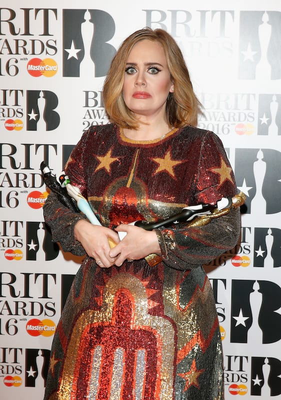 Adele Rejects £1 Million Offer From Middle Eastern Billionaires 1608 GettyImages 512086158