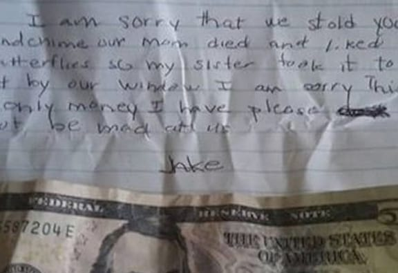Kids Apology Letter To Neighbour For Stealing Has Heartbreaking Twist