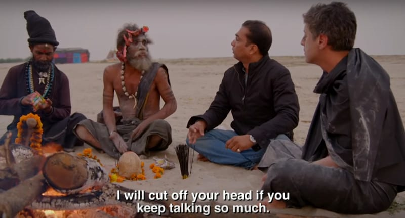 Cannibals Feed Interviewer Human Brain And Throw Their Own Sh*t At Him