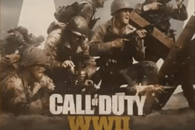 Call Of Duty: WWII Reportedly Leaked In New Images