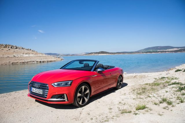 Just In Time For The Summer, There's A New Audi A5 Convertible Coming
