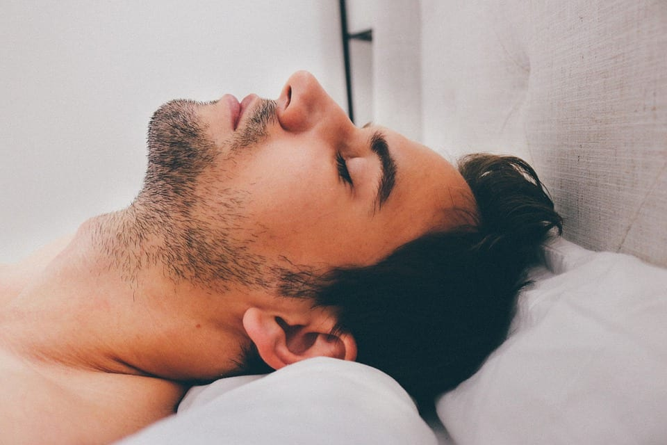 People Who Struggle To Get Out Of Bed Are More Intelligent Study Says 509 Adult Sleeping Male Man Sleep Young Deep 909049