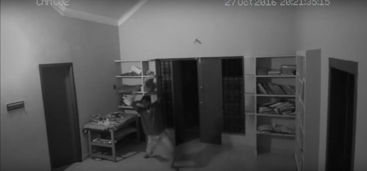 Frightening Video Shows Teen Attacked By A Ghost