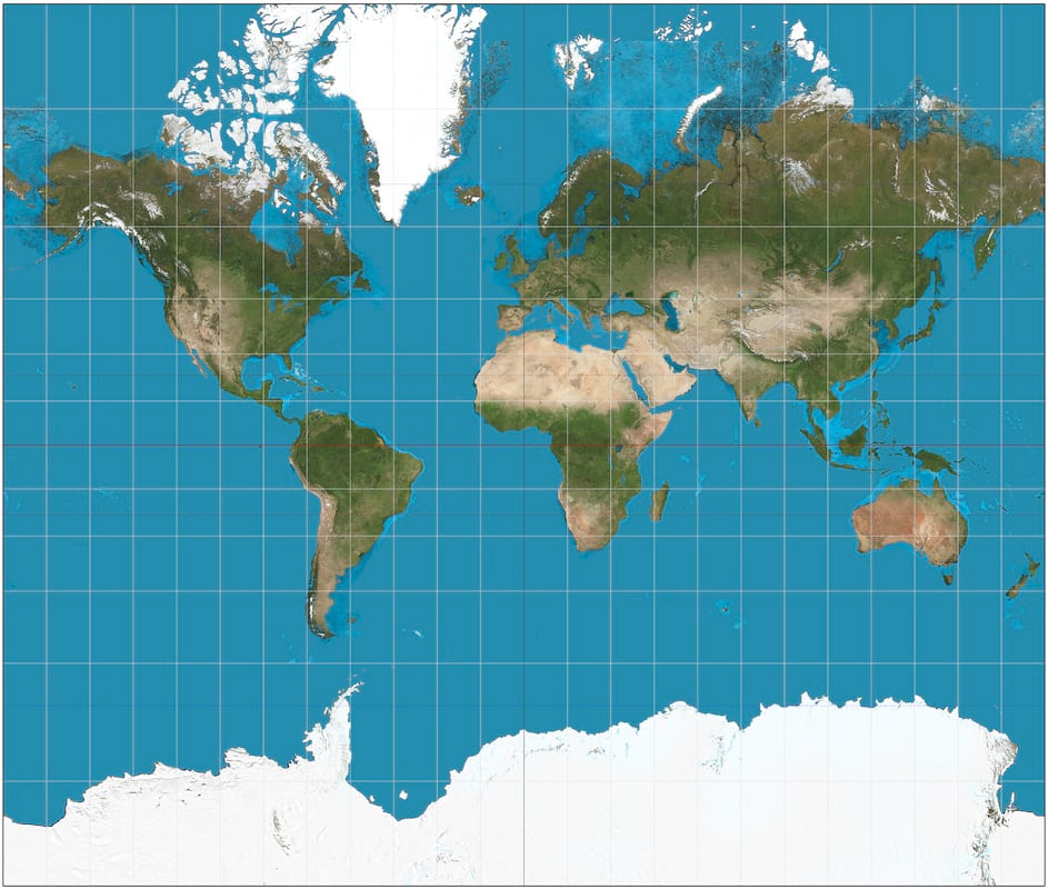 The Map Of The World Is Changing To Correct 500 Year Old Error 637 Mercator projection SW