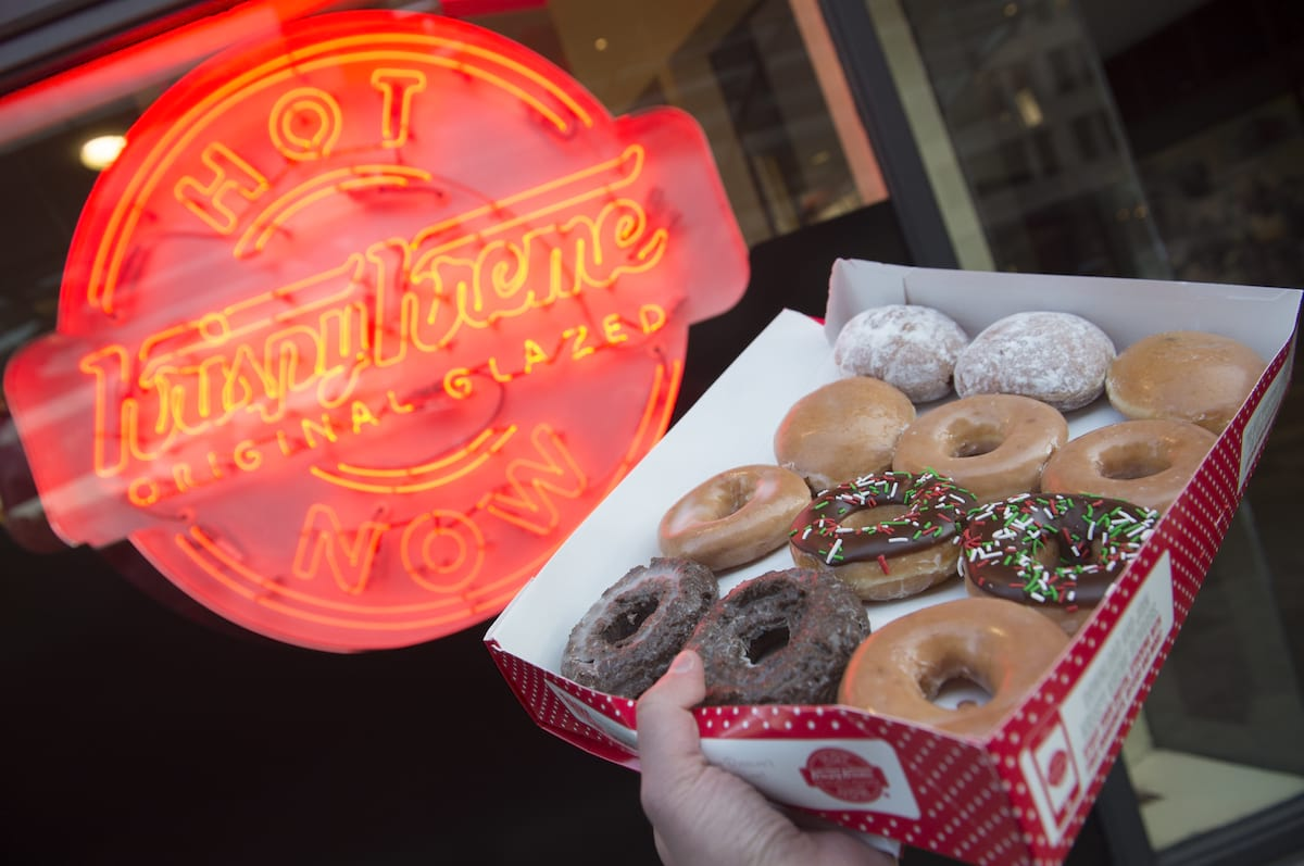 Krispy Kreme Is Changing Its UK Name Because Brits Cant Pronounce It Correctly 822 GettyImages 627073022