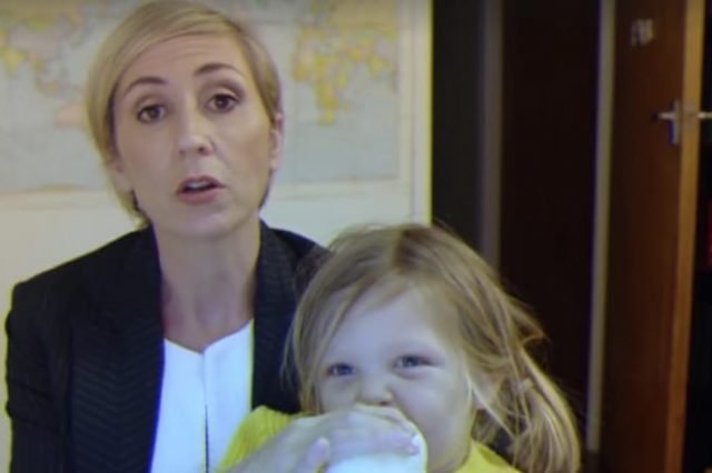 Parody Of BBC Interview With Kids Shows How Women Would Deal With It