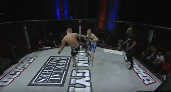 This Brutal Knockout Is The Fastest In MMA History 885 qpoe