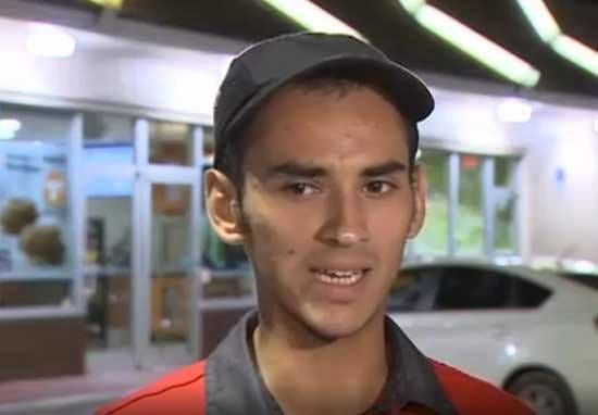 McDonald's Employee Dives Out Of Drive-Thru Window To Save Dying Policewoman