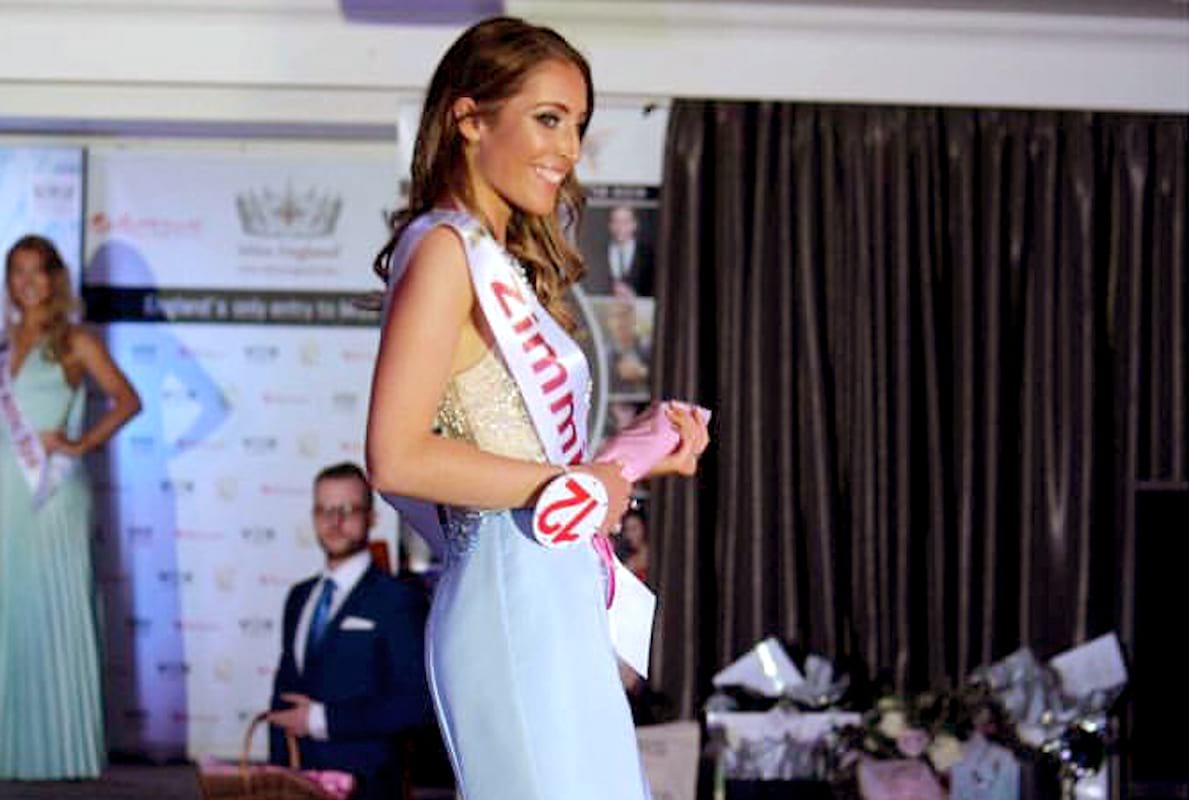 Journalist Reporting On Beauty Competition Ends Up Winning It 1089 laura gooderham beauty contest one