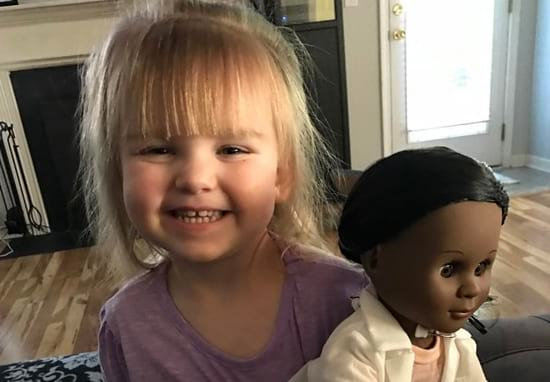 Little Girl Shuts Down Sales Person Who Asked Her To Pick A New Doll