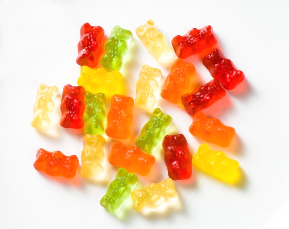 Haribo gummy bears are just one of many products that thomas - Heres What Haribos Green Gummy Bears Are Actually Flavoured 323 Gettyimages 174693748
