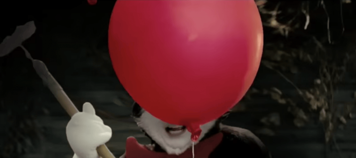 Someone Replaced Pennywise With The Cat In The Hat In The IT Trailer 401 it cat in the hat