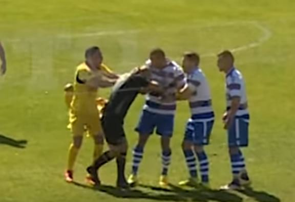 Portuguese Footballer Banned For Life For Brutally Attacking Referee