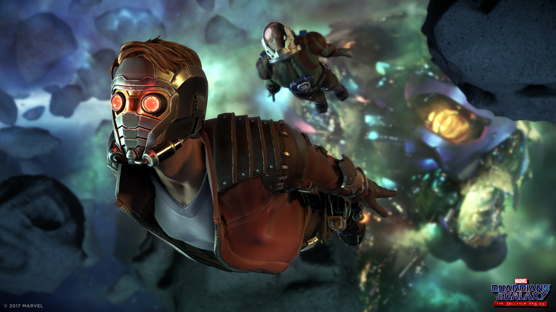 Marvels Guardians Of The Galaxy: The Telltale Series Review GotG Asteroid Belt 1920x1080