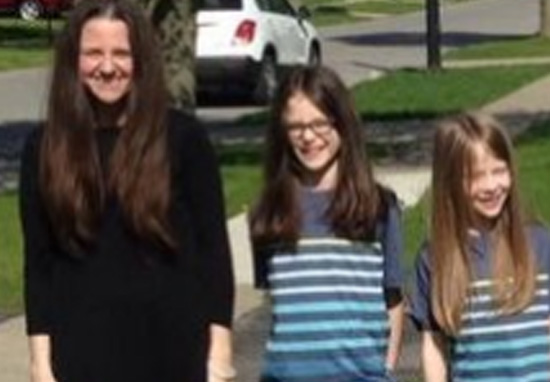 Mum And Her Six Sons Grow Hair Out And Donate It To Kids In Need