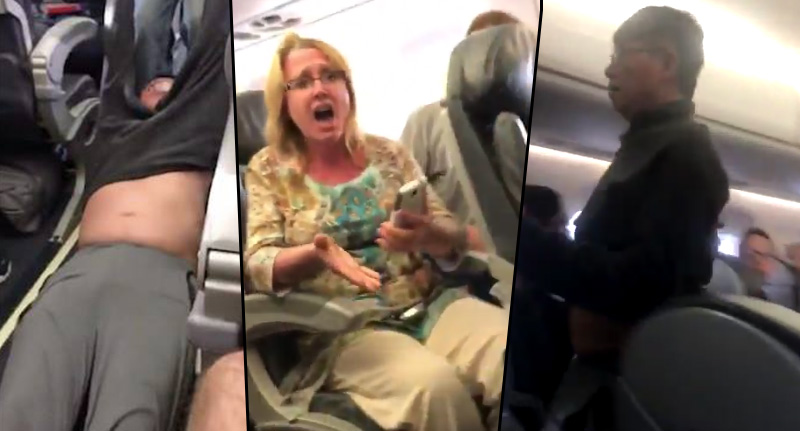 Second Video Shows Bloodied Doctor Return To United Airlines Flight In Panic