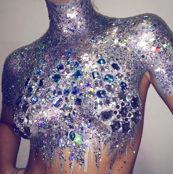 Glitter Tits Are The Festival Trend Of Choice This Year
