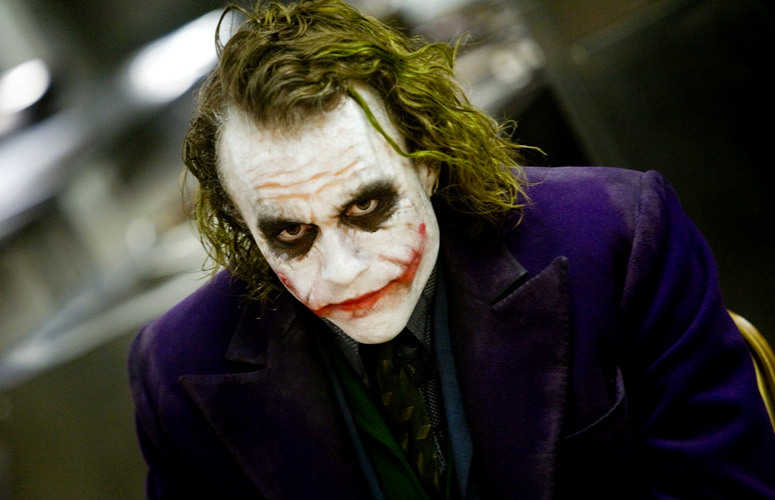 Heath Ledgers Joker Voted Greatest Movie Villain Of All Time heath ledger the joker 133406