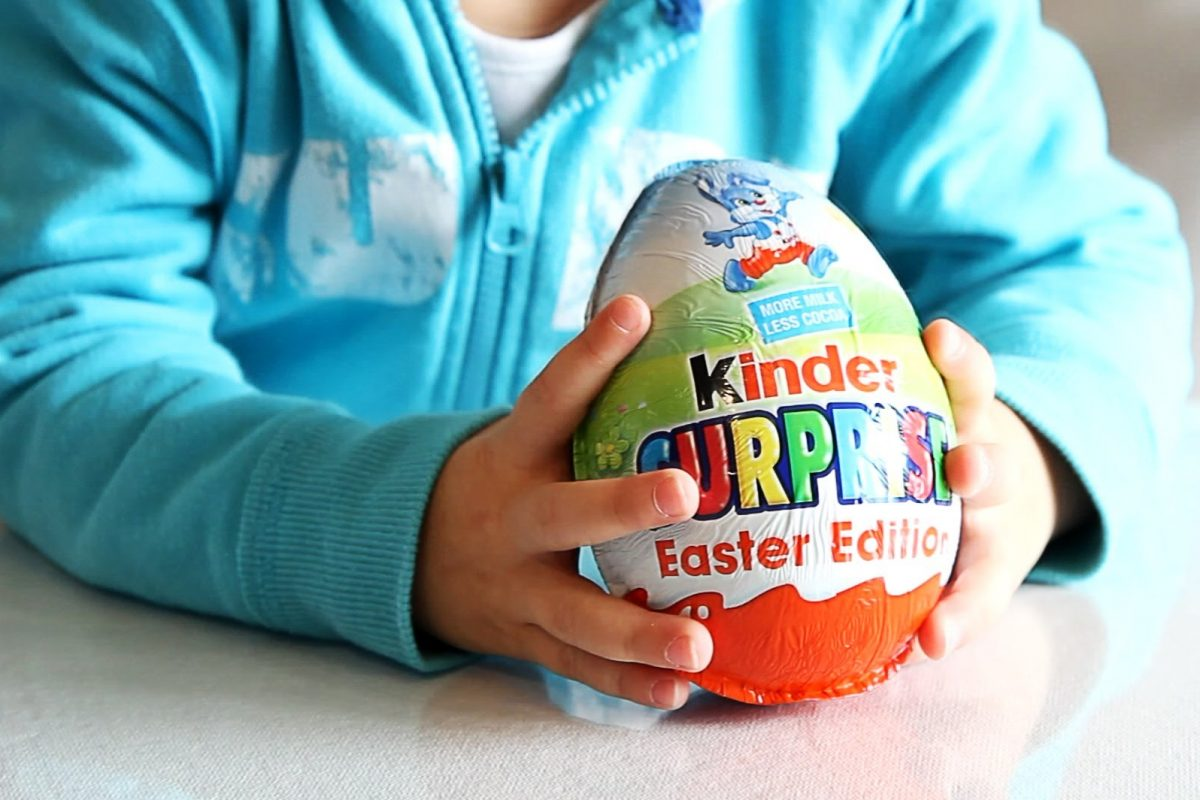 Mum Sickened After Discovery Inside Her Daughters Easter Egg kinder easter egg 1200x800
