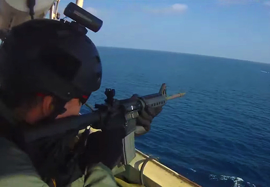 Shocking Video Shows Deadly Gunfight As Somali Pirates Try