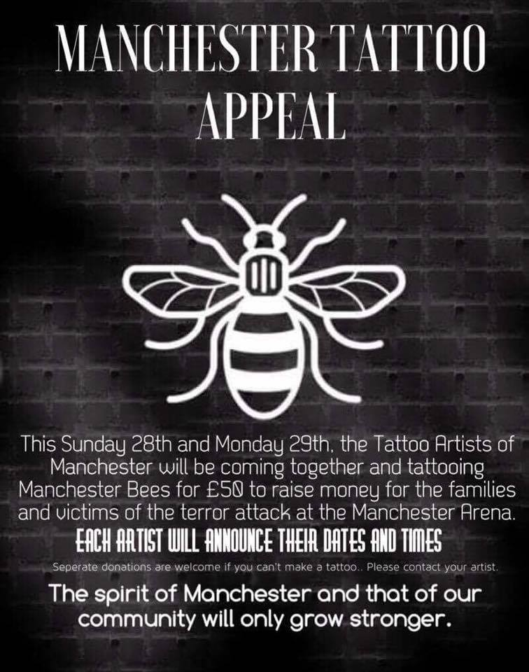 Image result for manchester tattoo appeal