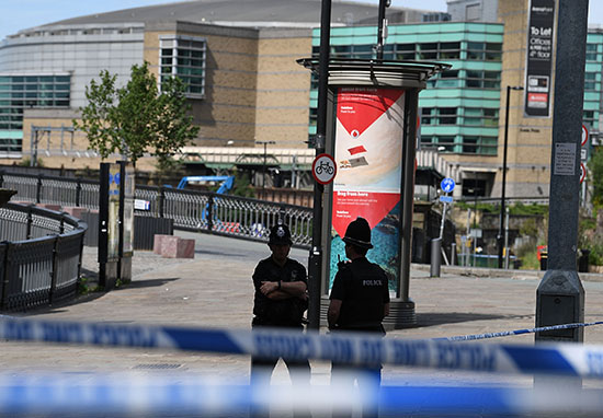 British police arrest 2 more in Manchester bombing