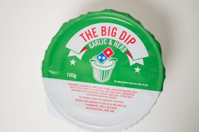 Shocking Truth Behind Domino's Garlic & Herb Dip Could Put You Off For Life