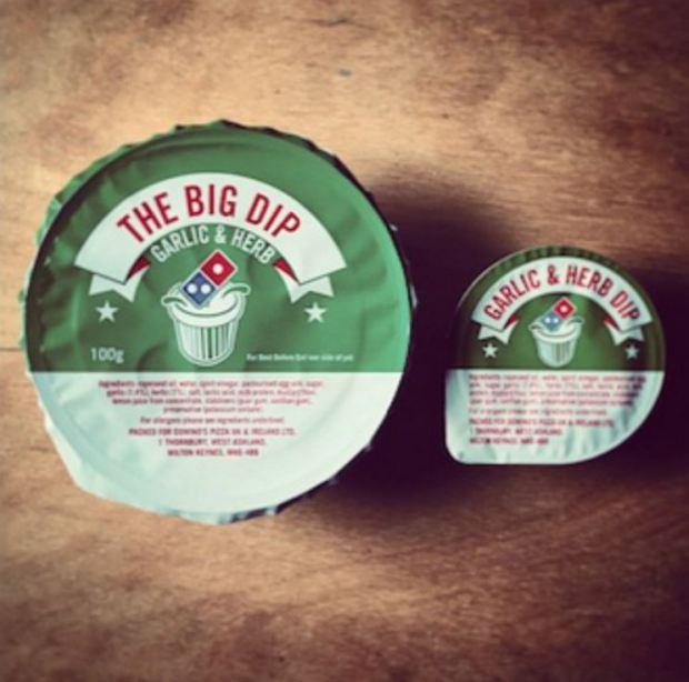 Shocking Truth Behind Domino's Garlic & Herb Dip Could Put