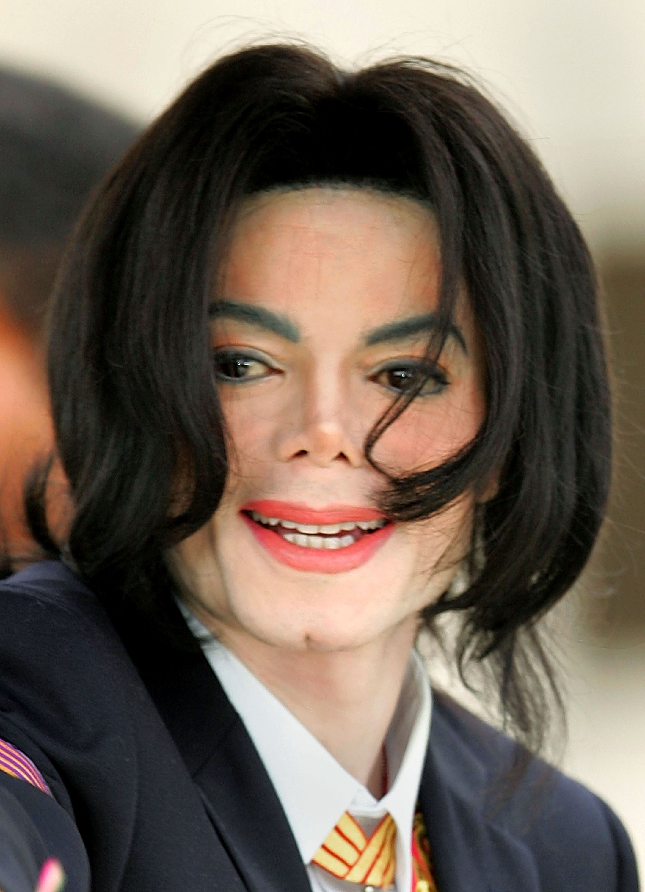 michael jackson at court