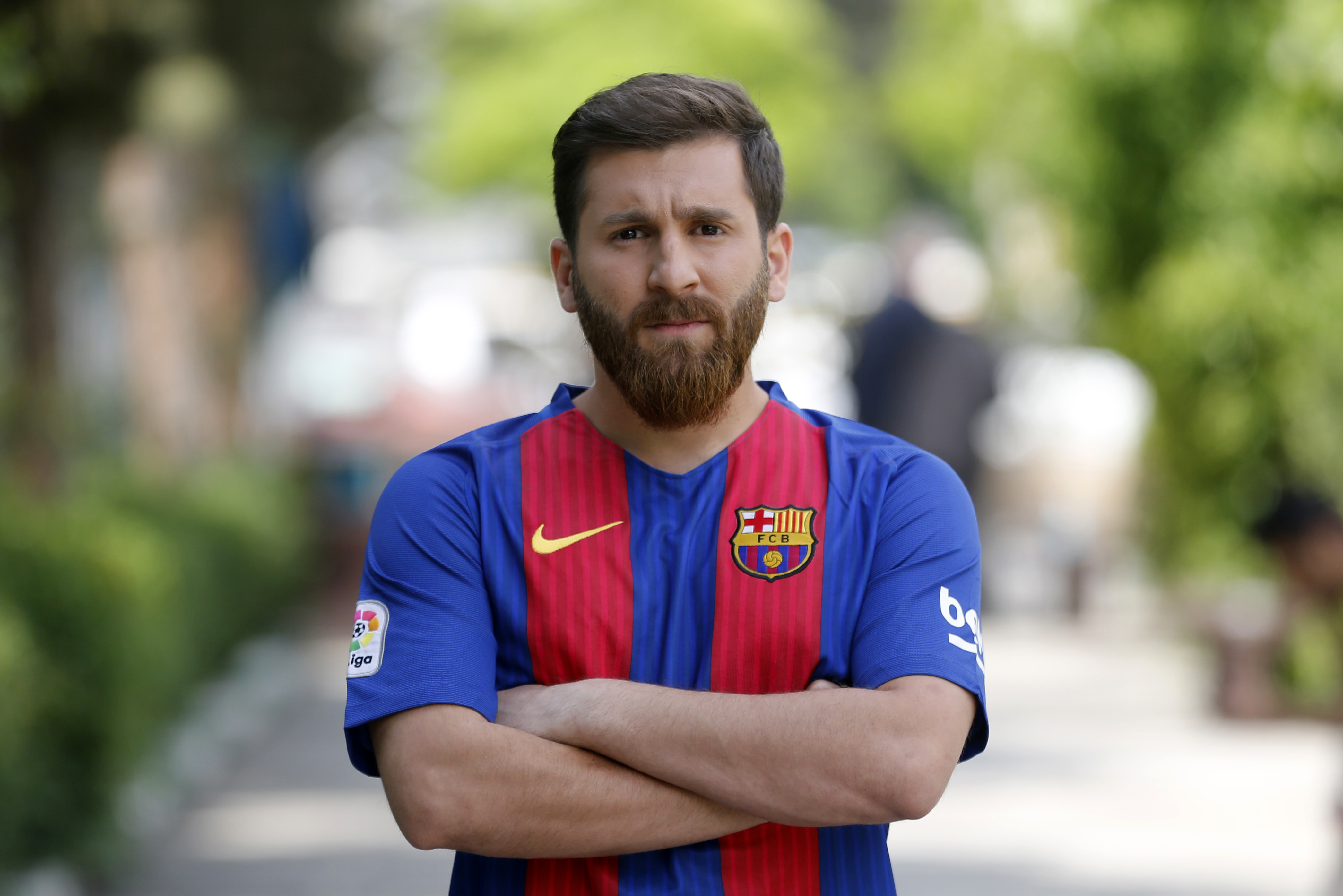 Guy Who Looks Exactly Like Lionel Messi Almost Arrested For Disrupting Public Order - 1