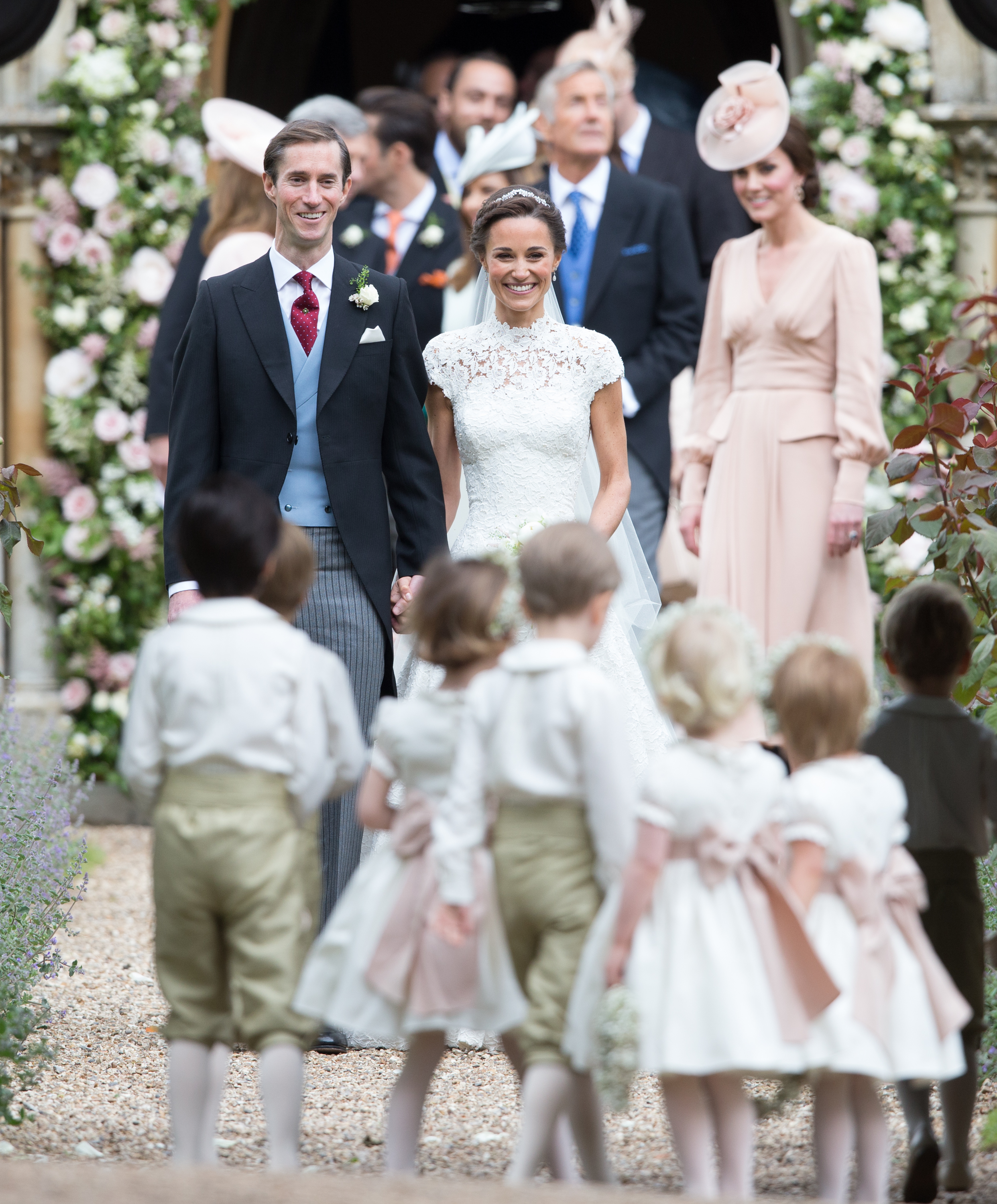 Heres Why Meghan Markle Wasnt At Pippa Middletons Wedding GettyImages 686095778