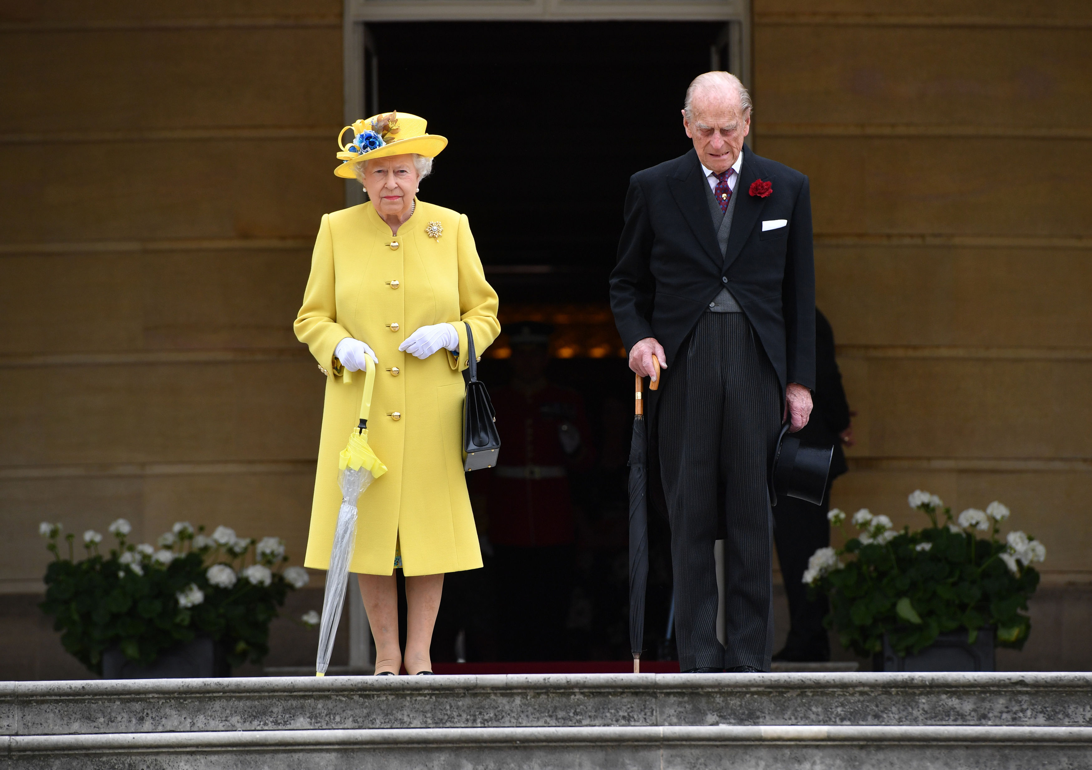 Knifeman Arrested Yards Away From The Queen At Buckingham Palace GettyImages 687300972