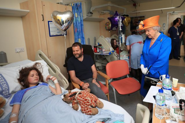 The Queen Visits Manchester Terror Attack Victims In Hospital