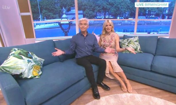 People Couldnt Believe What Holly Willoughbys Dad Looks Like Ruth and Eamon stand in for Holly and Phil