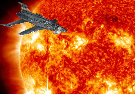 NASA To Fly Spacecraft Straight Into The Sun