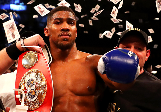 Anthony Joshua Has Already Booked Wembley For Another Huge Fight