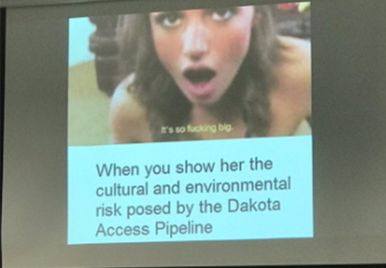 Guy Uses Porn Meme In College Presentation And Gets The Grade