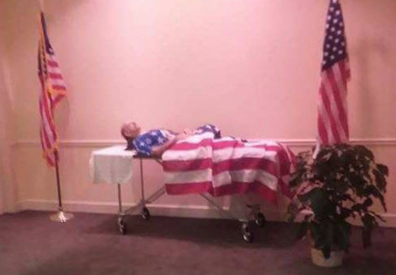 War Veteran's Body Displayed Without Coffin As Family Couldn't Afford Fee