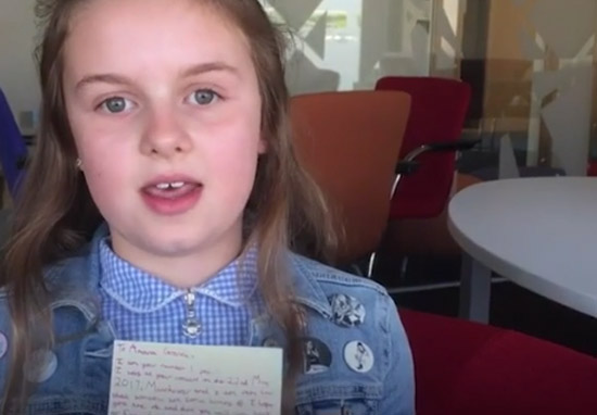 Ten-Year-Old Girl Caught In Manchester Blast Writes Amazing Letter To Ariana Granda